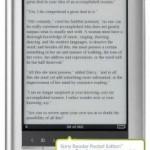 Twee maanden een Sony e-reader uitproberen – aktie van bol.com