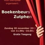 Zondag 20 november boekenbeurs in Zutphen