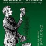 Antiquarische boekenbeurs in Museum Het Prinsenhof – 'Boekenweekend Delft' – 20/21 april 2013