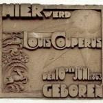 150 Jaar Louis Couperus herdacht met onthulling eerste plaquette gedichtenwandeling