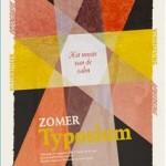 Zomertyposium 2013: Het neusje van de zalm…