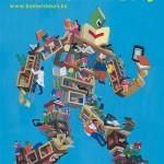 Affiche voor de Vlaamse Boekenbeurs 2013 bekend