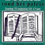16e editie van 'Boeken rond het Paleis' op zondag 25 augustus 2013