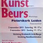 Bezoekers Boekkunstbeurs 2013 ontvangen uniek boekje van Joost Swarte