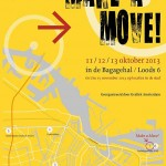 Grafiek manifestatie Make a Move! – 11/13 oktober 2013 in Amsterdam