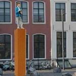Vlissingen krijgt standbeeld 'Dichter van het park'