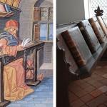 In de Librije te Zutphen liggen de boeken al 450 jaar aan de ketting…