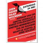 Geen Daden Maar Woorden Festival – 24 mei 2014 – Den Bosch