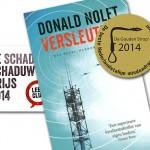 Donald Nolet wint met 'Versleuteld' Schaduwprijs én De Gouden Strop 2014