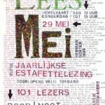 Voorleesestafette van het 125 jaar oude gedicht 'Mei' van Herman Gorter
