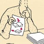 'Hoe open ik een boek?' – de literaire cartoons van Stefan Verwey te zien in het Persmuseum