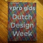 Grafisch vormgeefster Hansje van Halem maakt weer cover VPRO gids