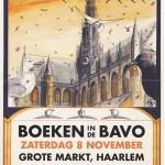 Boekenbeurs in de Grote of St.-Bavokerk Haarlem – za 8 nov 2014