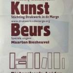 Maarten Biesheuvel speciale gast op BoekKunstBeurs 2014