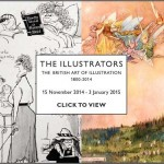 The British Art of Illustration 1800-2014, verkooptentoonstelling Chris Beetles Gallery Londen