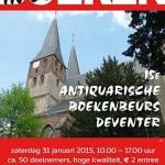 15e editie Deventer boekenbeurs 'Boeken in de Kerk' – 31 januari 2015