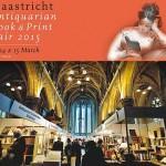 Grote antiquarische boekenbeurs in Sint Janskerk Maastricht