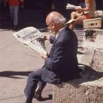 Krantenlezers – foto's van Eddy Posthuma De Boer in het Persmuseum