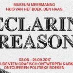 Tentoonstelling 'Declaring reason' in Museum Meermanno