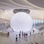 MVRDV project:  de Tianjin Binhai Library