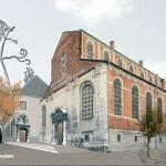 Nieuwe stadsbibliotheek in Predikherenklooster Mechelen – plan te zien op expositie tot 30 nov.