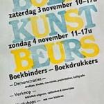 Boekkunstbeurs 2012 – 3 en 4 november in de Pieterskerk, Leiden