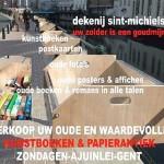 'Zot van Boeken' – documentaire op Canvas tv over de tweedehandsboekenmarkt op de Ajuinlei in Gent