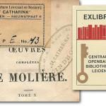 Exlibris van bibliotheken, uit de collectie Krol