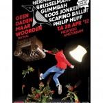 Geen Daden Maar Woorden Festival nu ook in Amsterdam – op 28 april 2012