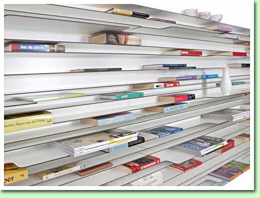 In de \'Paperback\' kunnen uw boeken rustig liggen…