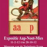 Expositie Aap-Noot-Mies in het Museum van de Twintigste Eeuw