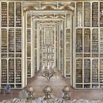 De imaginaire bibliotheken van Jean-Francois Rauzier