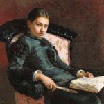 Schilderij vrouw met boek ter veiling bij Sotheby's – verwachte opbrengst meer dan 1 miljoen