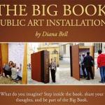 The Big Book Public Art Installation nu in Leiden