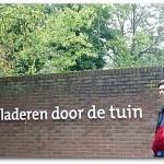 Geveldicht voor leestuin bibliotheek Papendrecht