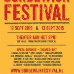 Bordewijk Festival 12 & 13 september 2015