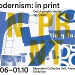 Tentoonstelling over het modernisme in de Nederlandse grafische vormgeving